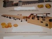 Туннельная печь для производства печенья(затяжное, сахарное)