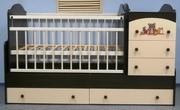Кроватки-трансформеры для детей от 0 до 7 лет.Цены от 38 000 тенге