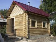 Строительство бани из блока,  сруба или бруса.